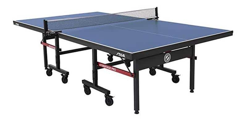 the stiga advantage, the best ping pong table in 2019