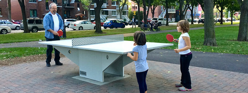 Conrete Ping Pong Table Differences