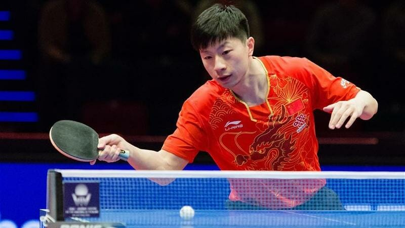 Ma Long Famous Ping Pong Player