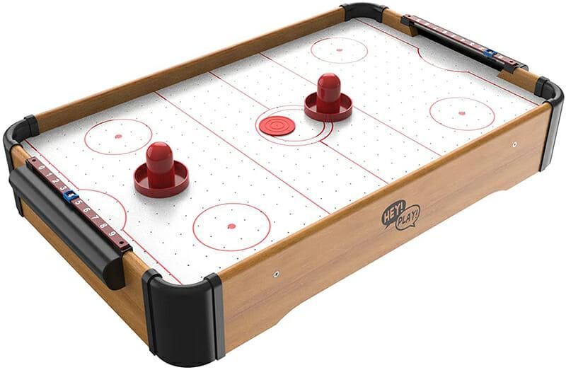 Mini Arcade Air Hockey Table