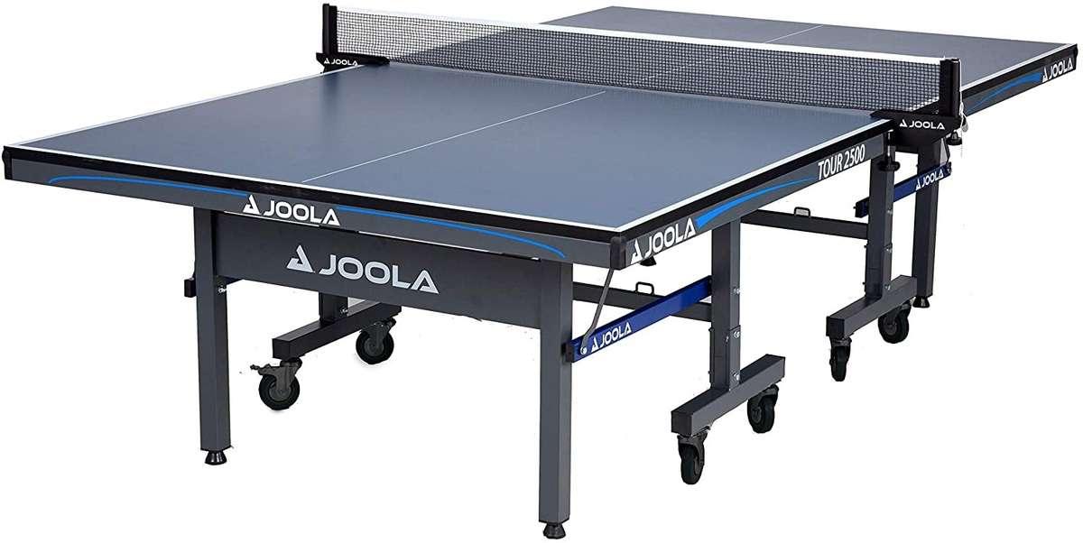 JOOLA Tour Table Tennis Table erected
