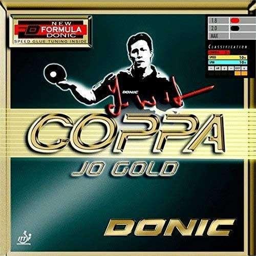 Coppa Jo Gold Table Tennis Rubber