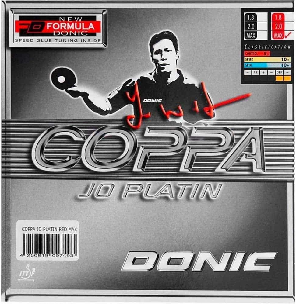 Coppa Jo Platinum Table Tennis Rubber