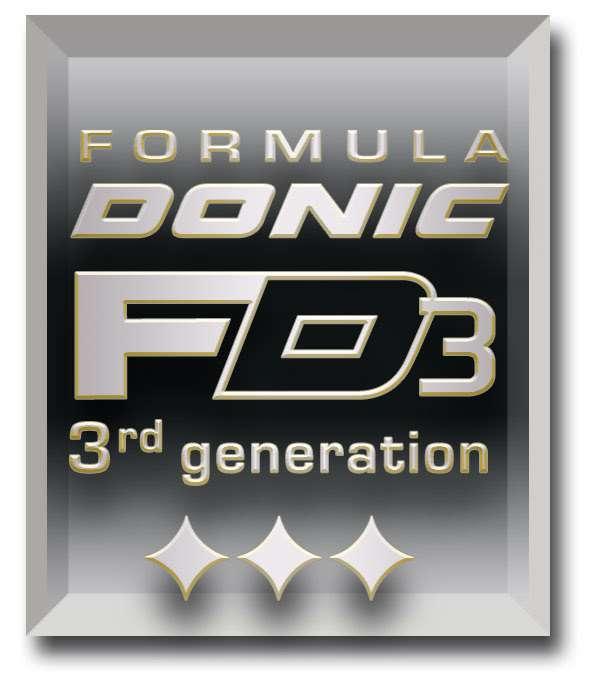 Formula Donic FD3 3rd Generation logo